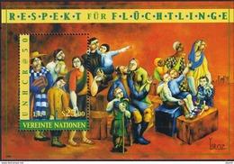Nations Unies Vienne YV BF 14 MNH 2000 Haut Commissariat Pour Réfugiés - Wien - Internationales Zentrum