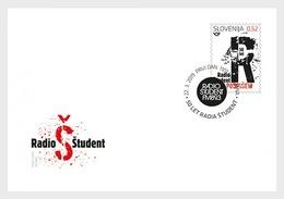 H01 Slovenia 2019 50th Anniversary Of Radio Student FDC - Slovénie