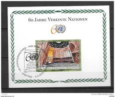 Nations Unies Vienne YV BF 16 MNH 2005  60 Ans ONU - Wien - Internationales Zentrum