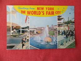 Greetings NY World's Fair Multi View  New York > New York City   Ref 3232 - Manhattan