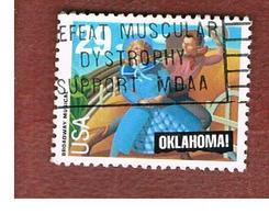 STATI UNITI (U.S.A.) - SG 2779  - 1993 BROADWAY MUSICALS: OKLAHOMA   - USED - Used Stamps