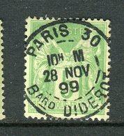 Superbe N° 106 Cachet à Date De Paris 30 Bard DIDEROT - 1876-1898 Sage (Type II)