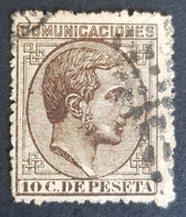 1878, King Alfonso Xll, Alphonse Xll, Kingdom, Spain, España - Gebraucht