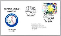 CAMPEONATO MUNDIAL DE BEISBOL 2009 - Baseball World Championship. San Marino 2009 - Béisbol