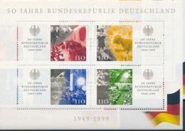 Allemagne 1999 50 ème Anniversaire Republique Federale D'Allemagne Konrad ADENAUER MNH - Célébrités
