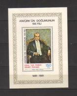 9710- Northern Cyprus, Turkish Cyprus,  S/sheet Year 1981 Stanley Gibbons MS108 ** MNH – - Cyprus (Turkey)