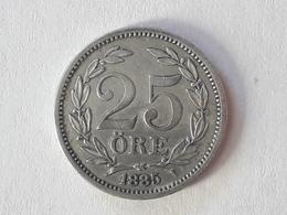 25 Öre Suède (Sweden) 1885 - Suède