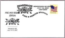 BOMBEROS - FIRE AND RESCUE STATION - FIREFIGHTING. Henderson NE 2007 - Bombero