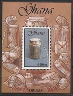 Ghana HB 165 ** MNH. 1991 Musica - Ghana (1957-...)