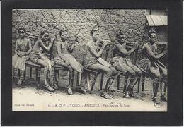 CPA Togo Afrique Noire Anecho Féticheuses De Luxe Nu Féminin Ethnic écrite - Togo