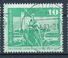 DDR Mi. 1843 Type I A Gest. Berlin Neptunbrunnen TGST Erfurt 1980 - DDR