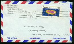 BR Kanada   1971 Luftpost Brief Von Vancouver Nach USA, Los Altos Kalifornien - 1952-.... Règne D'Elizabeth II