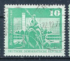 DDR Mi. 1843 Type I A Gest. Berlin Neptunbrunnen TGST Erfurt 1977 - DDR