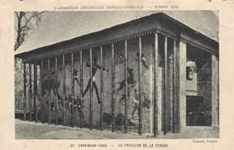 Exposition Coloniale Internationale Paris 1931, Cameroun  Togo, Le Pavillon De La Chasse  (pk57504) - Exposiciones