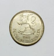 FINLANDIA - 1 MARKKA ( 1965 ) Silver - Finlandia