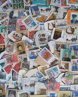 Kiloware Kovolut Grossbritanien England, Auf Papier. Ca. 1400 Gramm - Briefmarken