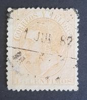 1882, King Alfonso Xll, Alphonse Xll, Kingdom, Spain, España - Gebraucht