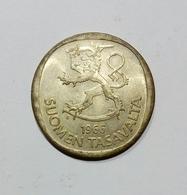 FINLANDIA - 1 MARKKA ( 1966 ) Silver - Finlandia