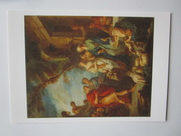 Francois Boucher (1703-1770). Bethuel Accueillant Le Serviteur D'Abraham. Strasbourg MBA. Hazan 3267 - Peintures & Tableaux