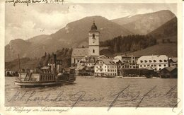 007434  St. Wolfgang Im Salzkammergut. Seeansicht Mit Dampfer  1927 - St. Wolfgang