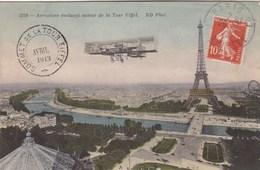 Paris, Aéroplace évoluant Autour De La Tour Eiffel (pk57513) - Tour Eiffel