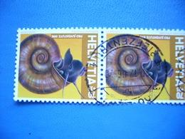 Switzerland, Helvetia, 1998, Pro Juventute, Fauna, Snail, Pair - Switzerland
