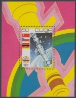 1979.103 CUBA 1979 MNH. Ed.2558. HF COMPLEJO ORBITAL SOYUZ RUSSIA RUSIA COSMOS SPACE ASTRONAUTICS. - Cuba