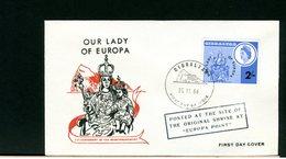 GIBILTERRA - FDC 1966 - OUR LADY OF EUROPA - Gibraltar