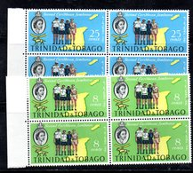 QUS - TRINIDAD TOBAGO 1961 , Serie Yvert N. 190/191 In Fresche Quartine  **  SCOUT (2380A) - Trindad & Tobago (1962-...)