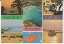 Postcard - Cyprus - Zypern - Cypern Six Views - Unused Very Good - Cartes Postales