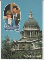 Postcard - Churches - St. Pauls Cathedral - Unused Very Good - Cartes Postales