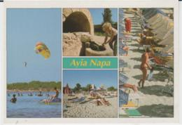 Postcard - Ayia Napa Four Views - Unused Very Good - Postcards