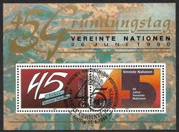 Nations Unies    Vienne   1990  - BF 5  -  Anniversaire - NEUF**  - Cote 4.90e - Wien - Internationales Zentrum