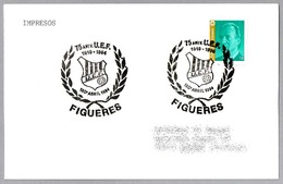 75 Años U.E.F. (Unio Esportiva Figueres) - Futbol - Football. Figueres, Girona, 1994 - Equipos Famosos