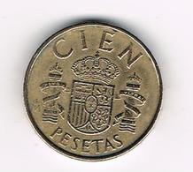 / SPANJE 100 PESETAS 1983 JUAN CARLOS - [ 5] 1949-… : Royaume