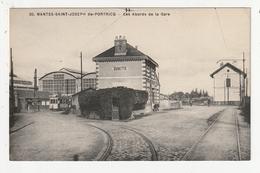 NANTES - SAINT JOSEPH DE PORTRICQ - LES ABORDS DE LA GARE - BUVETTE - 44 - Nantes