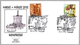 PRENSA DE VINO - WINE PRESS - WEINPRESSE. Graz 2013 - Vinos Y Alcoholes