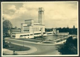 Nederland Briefkaart G 240 J Stads- En Dorpsgezichten Serie IV Nr. 7 Hilversum Stadhuis KOPSTAAND - Ganzsachen