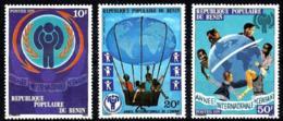 Benin Nº 441/43 En Nuevo - Benin – Dahomey (1960-...)