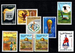 Marruecos - LOTE 8 Series En Nuevo - Maroc (1956-...)
