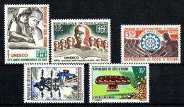 Costa De Marfil Nº 329/31-333/34 En Nuevo - Côte D'Ivoire (1960-...)