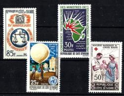 Costa De Marfil Nº 221/24 En Nuevo - Côte D'Ivoire (1960-...)