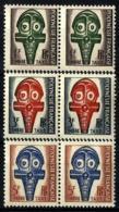 Polinesia Francesa Taxa 1/3 (parejas Horizontales) En Nuevo - Impuestos