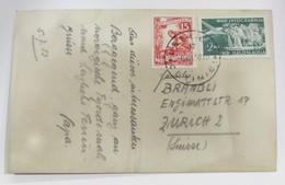 Yugoslavia 592+Aéreo 33 - Lettres & Documents