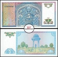 Uzbekistan   5 So`m   1994   P.75a   UNC - Ouzbékistan