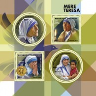 Togo. 2019 Mother Teresa. (0158a)  OFFICIAL ISSUE - Mother Teresa
