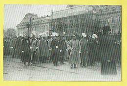 * Brussel - Bruxelles - Brussels * (EDN VO-DW Anvers) Funérailles De SM Léopold II 22-12-1909, Funeral Royalty, Rare - Bruxelles-ville