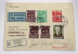 Yugoslavia Aéreo 1(3)-2/3+Correo 301 - 1945-1992 République Fédérative Populaire De Yougoslavie
