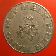 KB289-1 - MET MELK MEER MANS (milk Token) - WM 22.5mm - Professionnels/De Société