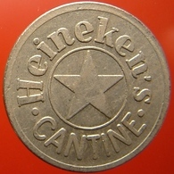 KB194-2 - HEINEKEN CANTINE - Amsterdam - WM 22.0mm - (Koffie) Kantine Penning - (Coffee) Machine Token - Professionnels/De Société